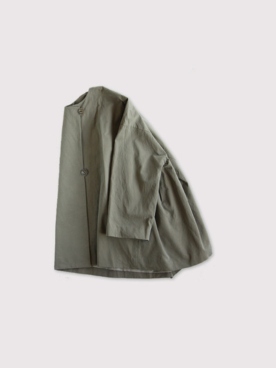 Side tuck tentline jacket~cotton 1