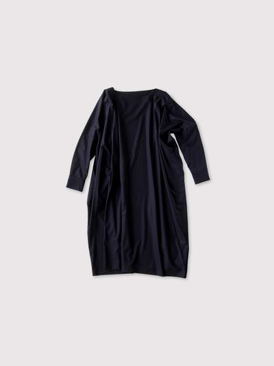 Boat neck long dress 1
