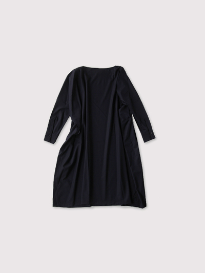 Boat neck long dress 2