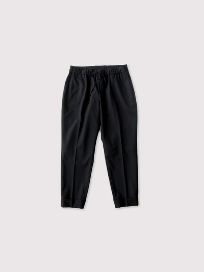 Draw string easy tapered pants~wool 1