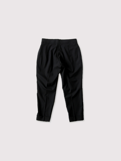Draw string easy tapered pants~wool 2