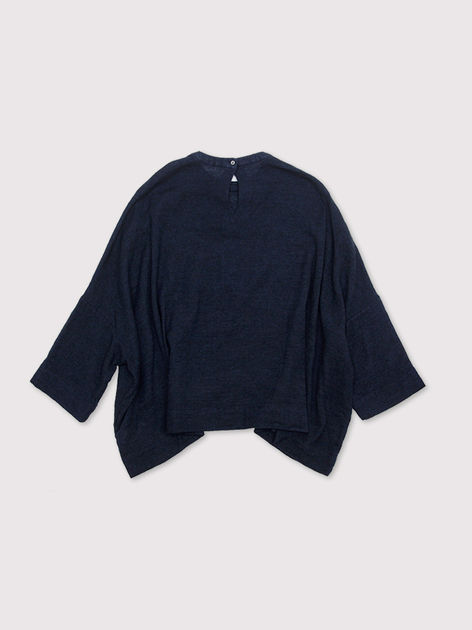 Big slip on blouse~ai wool linen 2