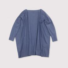 Boat neck big shirt tunic~cotton