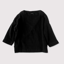 Men's stand collar box shirt~wool cotton