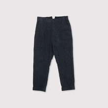 Men's tapered pants~wool cotton