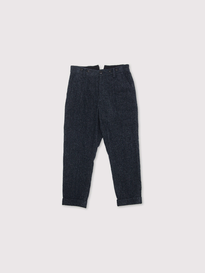 Men's tapered pants~wool cotton 1