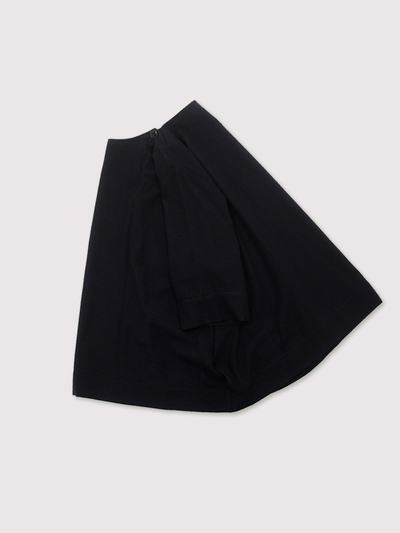 Poncho tunic short~wool 1