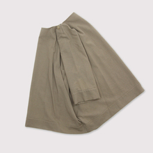Poncho tunic short~wool