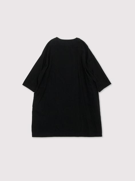 Sholder button dress~cotton linen 2