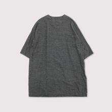 Sholder button dress~cotton linen