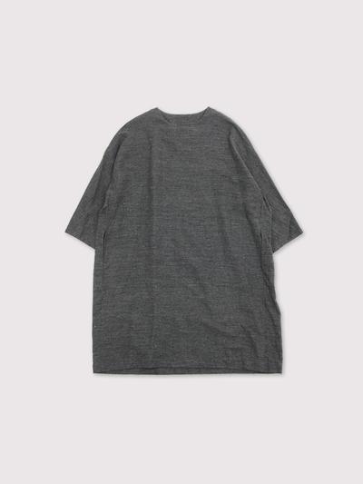 Sholder button dress~cotton linen 1