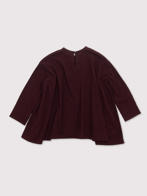 Side gather tent line blouse~wool 3