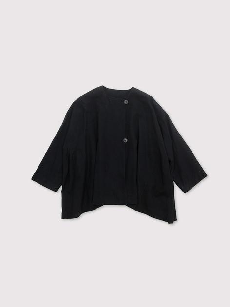 Side tuck tentline jacket~cotton linen 2