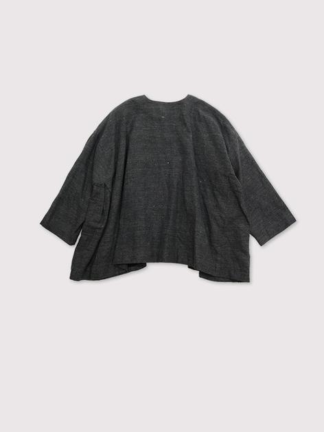 Side tuck tentline jacket~cotton linen 3