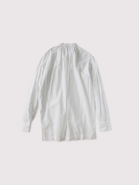 Skinny string gather blouse~cotton 2