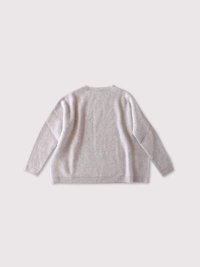 Big sweater long sleeve~wool cashmere 1