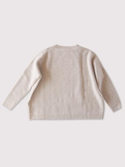 Big sweater long sleeve~wool cashmere 2