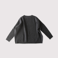 Big sweater long sleeve~wool cashmere