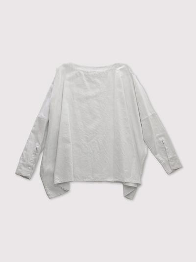 Boat neck big shirt~cotton 2