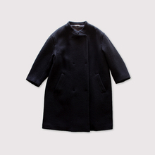 Bulky box coat~wool