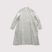 Front open long shirt~cotton