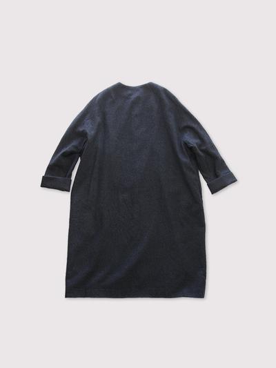 Long balloon coat~wool 2