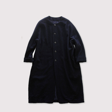 Long balloon coat~wool