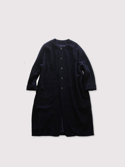 Long balloon coat~wool 1
