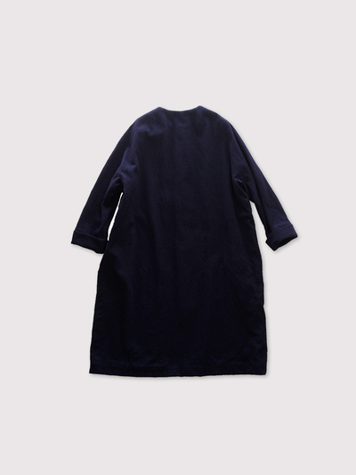 Long balloon coat~wool 2