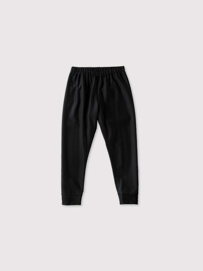 Woven leggins short~wool 1