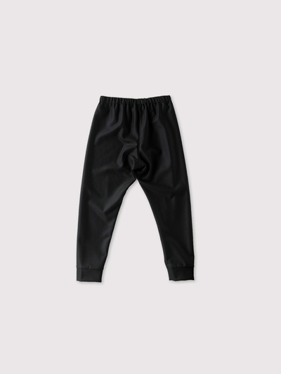 Woven leggins short~wool 2