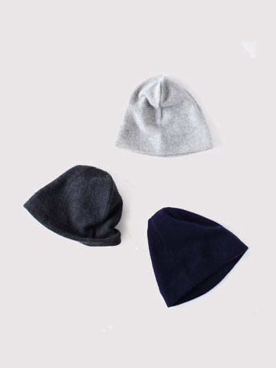 Simple cap~cashmere 2