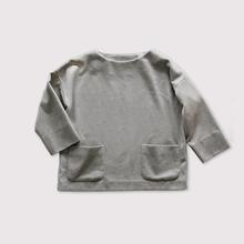 Front pocket slip on blouse~wool