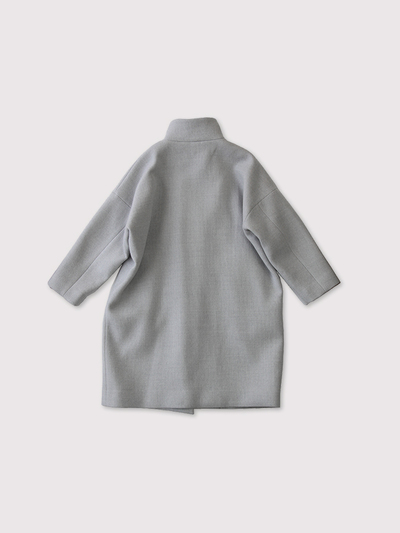 Stand collar coat~wool 3