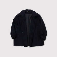 Driving jacket~wool cashmere mink beaver