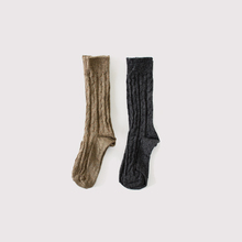 Cable sox~wool
