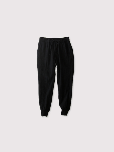 Draw string  easy tapered long pants~wool 1