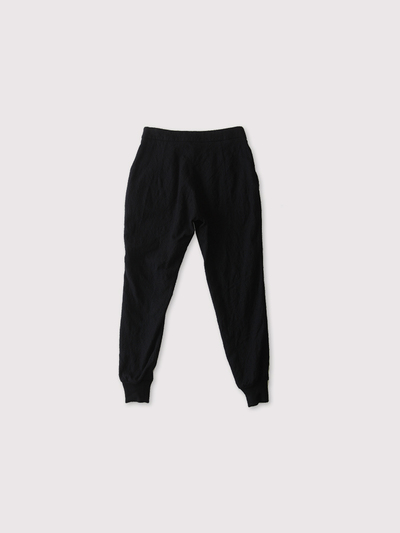 Draw string  easy tapered long pants~wool 3