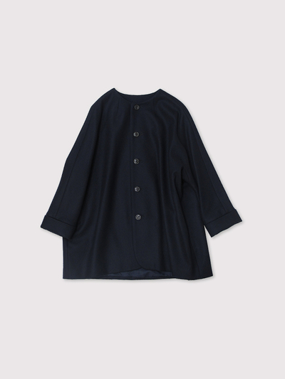 New middle balloon jacket~wool 1