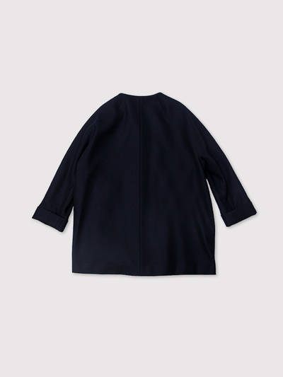 New middle balloon jacket~wool 2