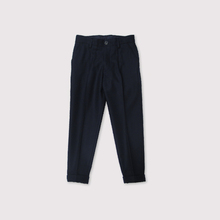 New tapered pants~wool