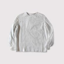 Round cuff blouse Ⅱ~cotton