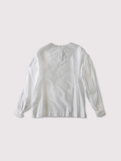 Round cuff blouse Ⅱ~cotton 2