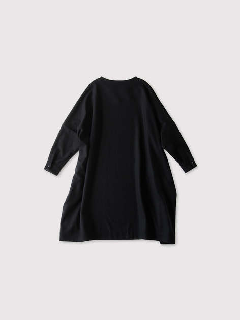 New balloon dress long sleeve~wool 2