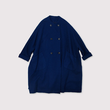Small collar balloon coat~AI medium wool
