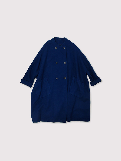 Small collar balloon coat~AI medium wool 1