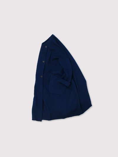 Small collar balloon coat~AI medium wool 2