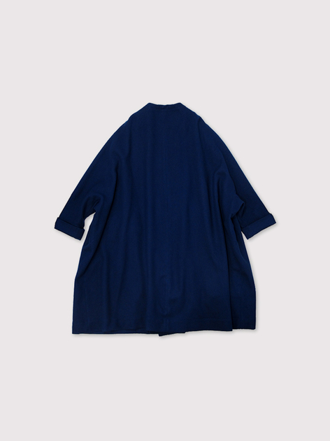 Small collar balloon coat~AI medium wool 3