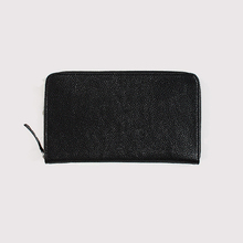 Simple zipper wallet~kurozankaku