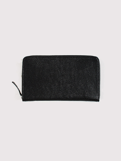 Simple zipper wallet~kurozankaku 1